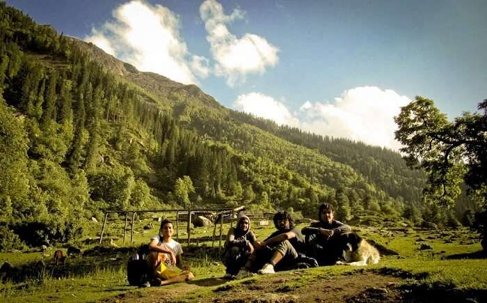 Bachelor party in Kasol with friends