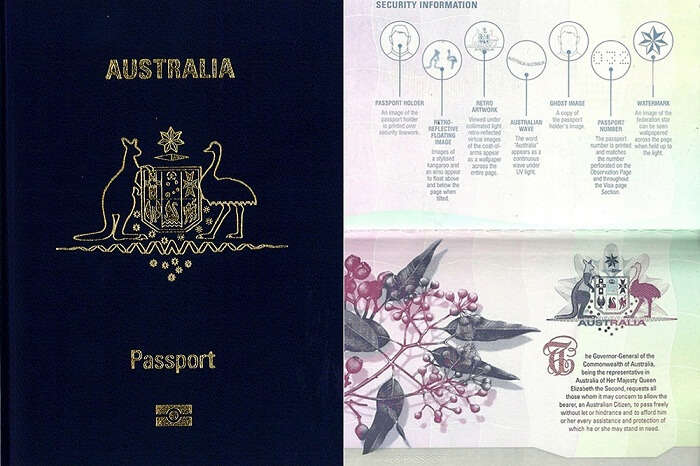 The beautiful passport of Australia after its recent facelift