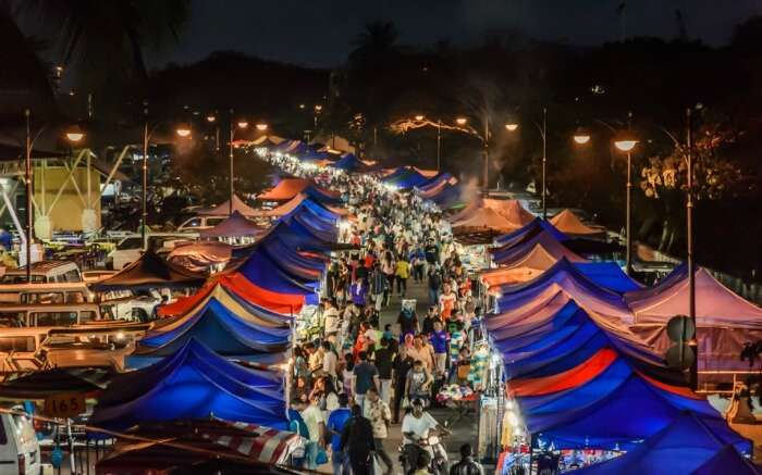 night markets in Langkawi