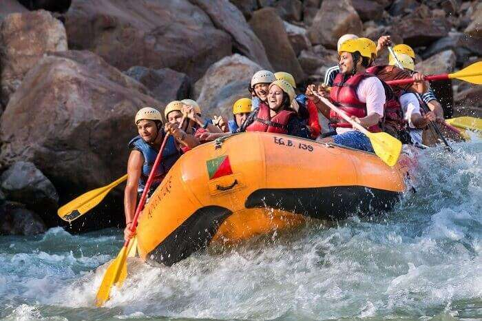 bachelor party fun in rishikesh