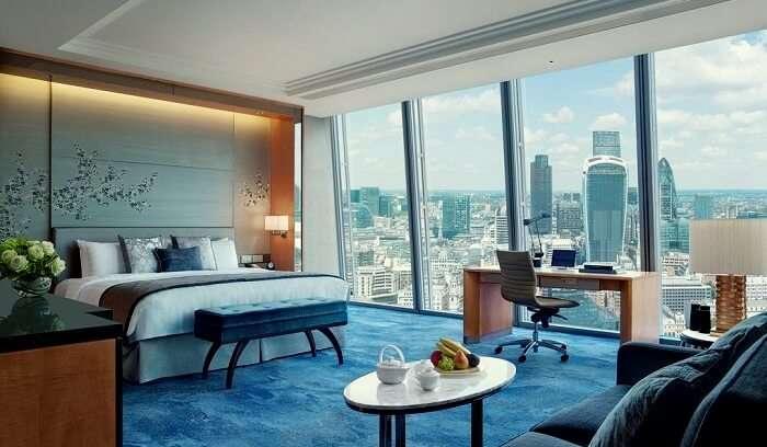 luxury romantic hotels london