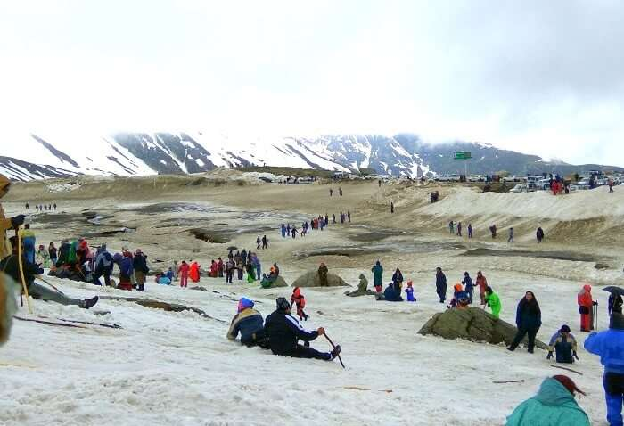 activities at rohtang pass