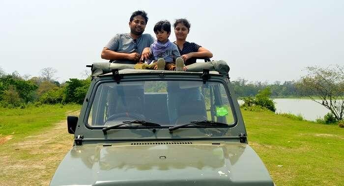 safari in kaziranga