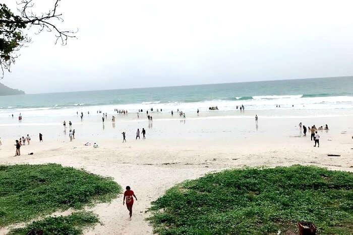 radhanagar beach island