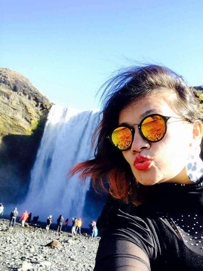 Gullfoss waterfalls in Iceland