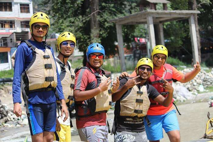 adventure sports near Kullu