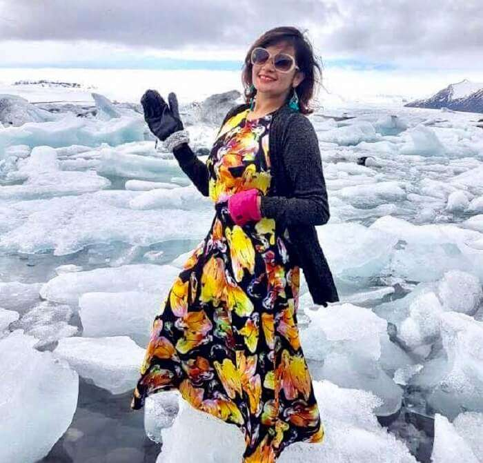 visit to Glacier Lagoon, Iceland