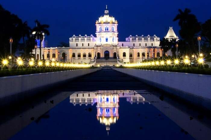 Ujjayanta Palace, Tripura, North East India