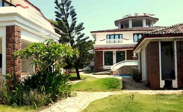 contemporary villas in south goa