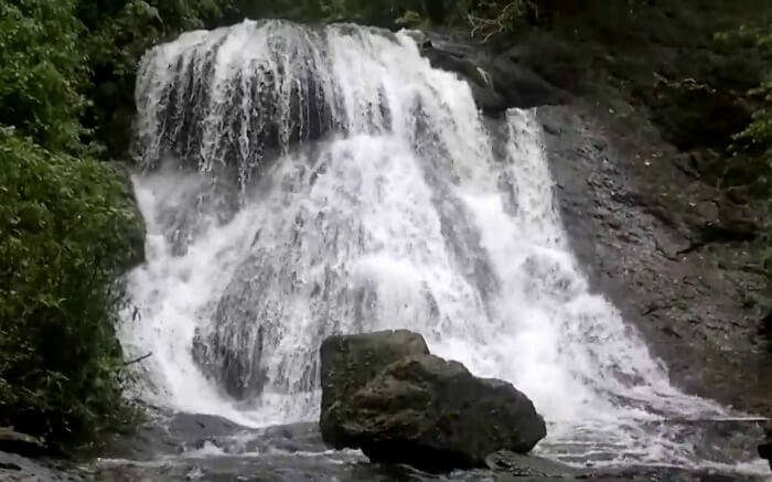 Bamanbudo Waterfalls in Goa