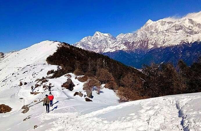 Brahmatal Trek View