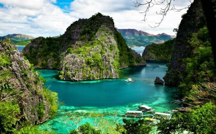 Colorful landscape of Coron Island in Philippines SS01062017