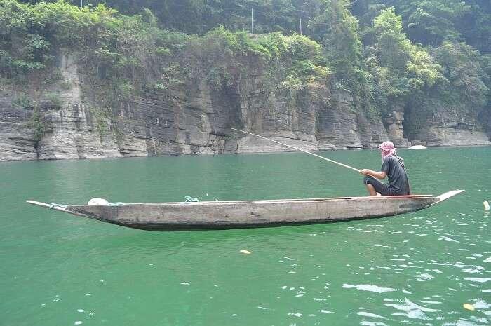 visit to dawki river