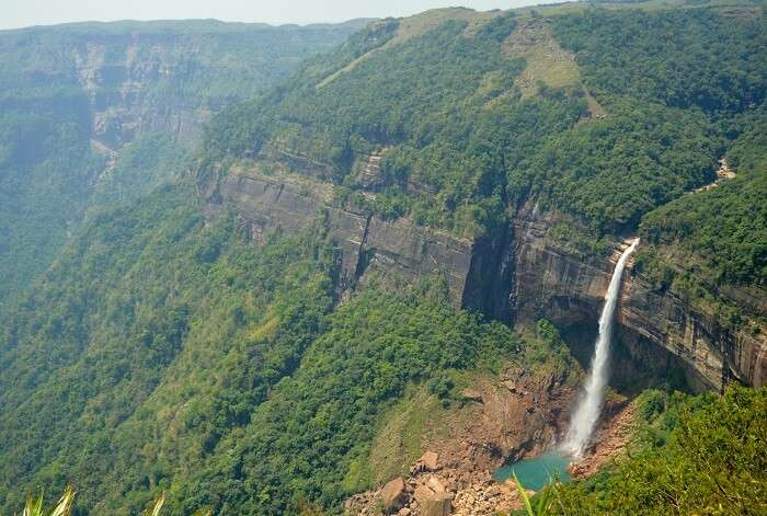 waterfalls in cherapunjee