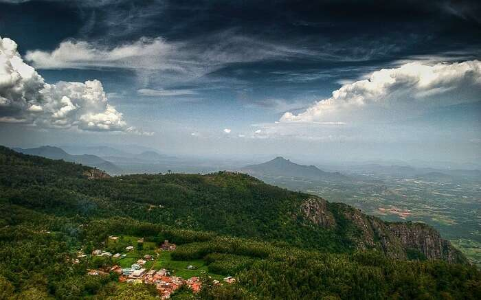Foggy hills of Yercaud