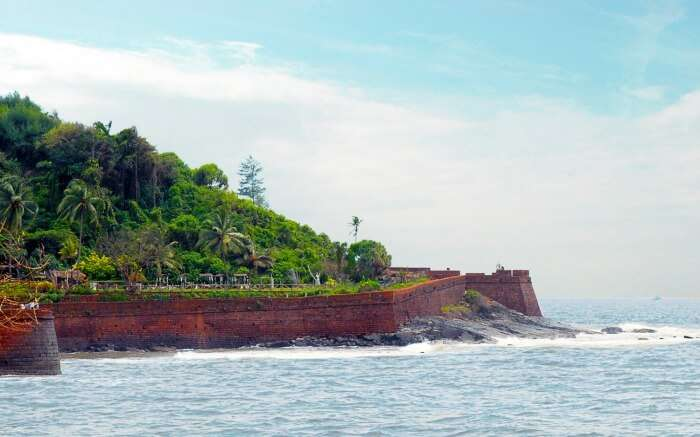 Fort Aguada in Goa