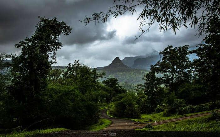 Gorgeous landscape of Purushwadi