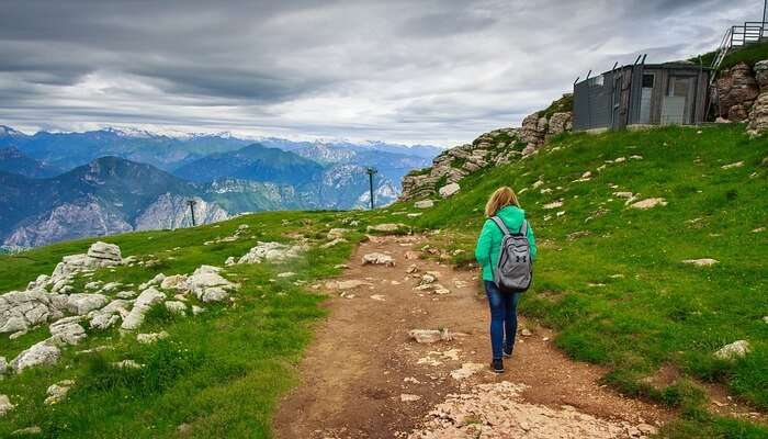 Hike the picturesque mountain trails