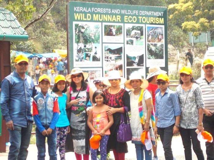sightseeing in munnar