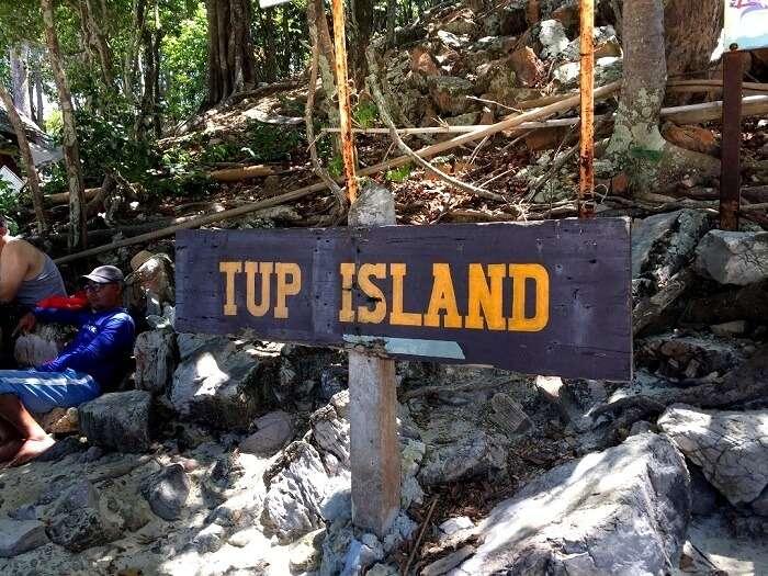 tup island in krabi