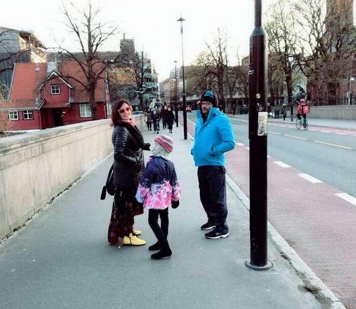 family trip to Oslo, Norway