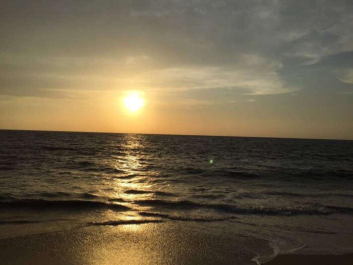 Alleppey sunset