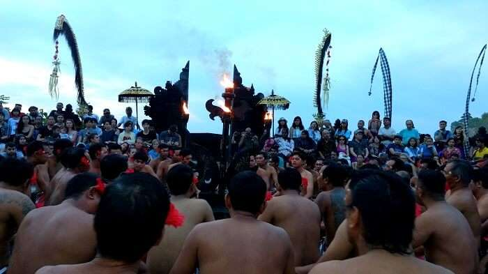 tribal dance in Bali