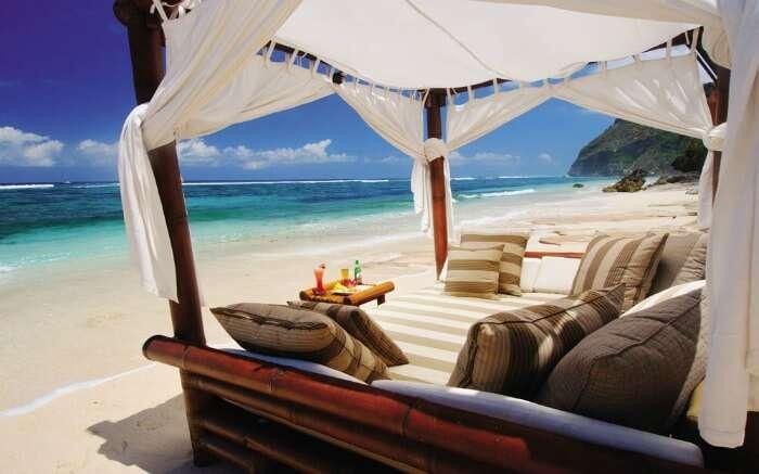 Karma Beach in Bali - one of the best beaches for honeymoon