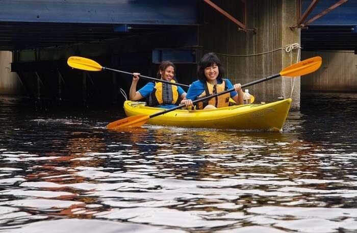Kayak On The Charles River
