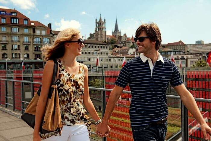 honeymoon in lausanne