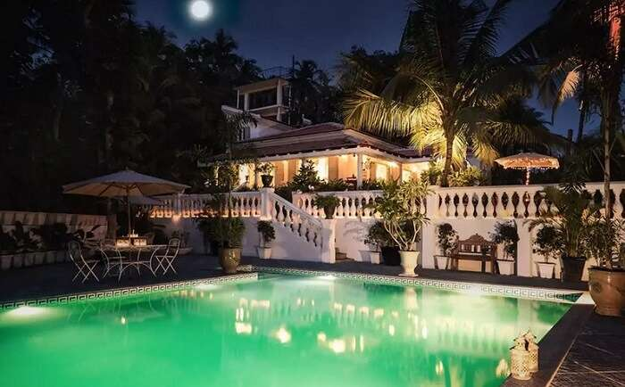 luxury villas in south goa