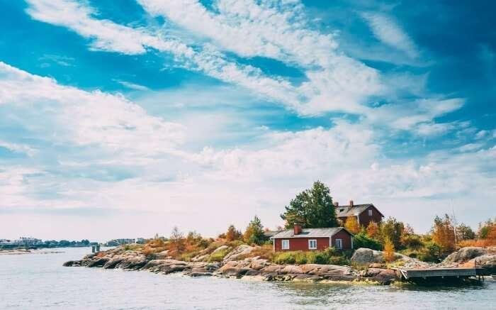 Pier Harbour in Finland