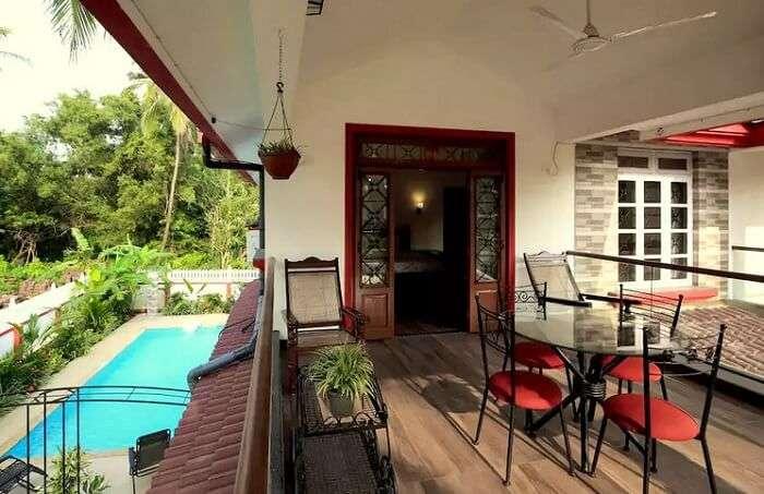 luxury homestays in south goa