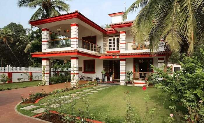 top homestays in cola south goa