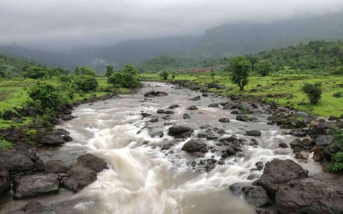 River Kurkundi in Purushwadi Maharashtra