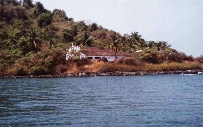 a Goan style house in Anjediva Island