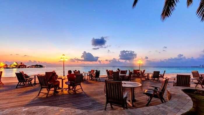 Farumathi restaurant at Paradise Island resort and spa