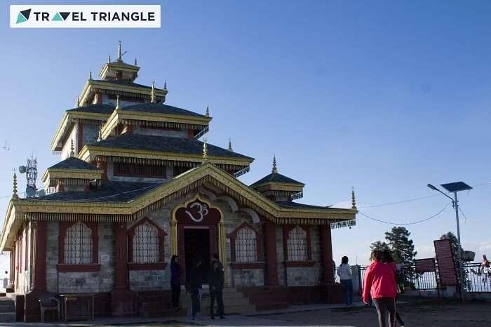 The Surkanda Devi Temple in the quiant town of Kanatal