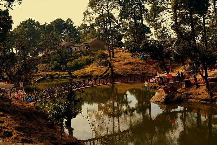 The famous Bhulla Tal Lake in Lansdowne