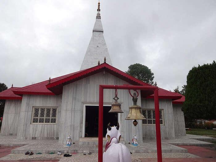 The popular Haidakhan Temple in Ranikhet