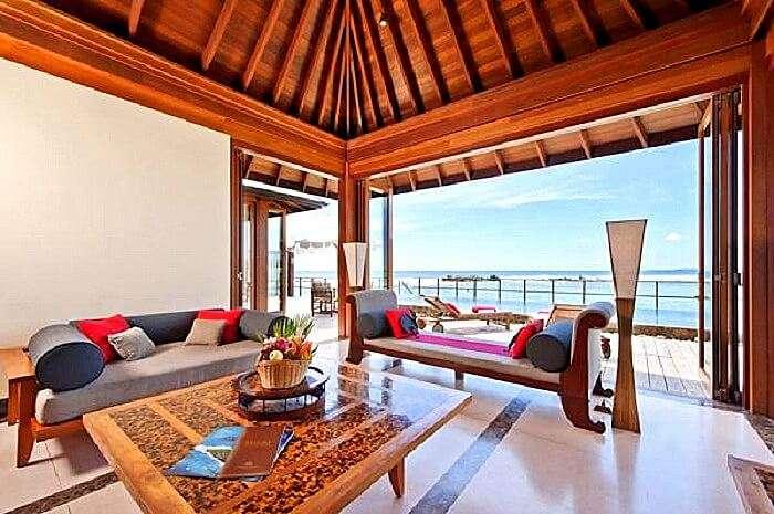 Ocean suite at Paradise island resort