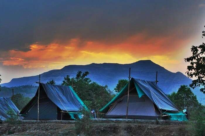 Camp stays in Purushwadi village