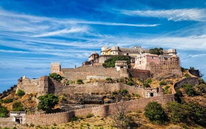 umbhalgarh Fort in Rajasthan India