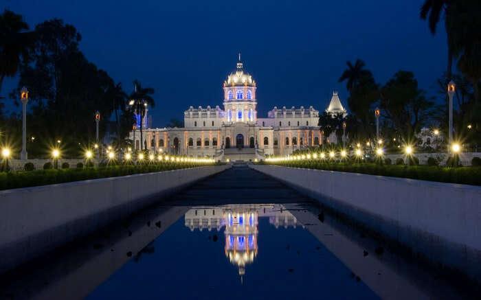 A beautiful museum building in Tripura