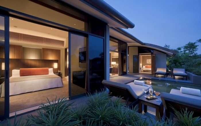 Capella Hotel in Sentosa Island