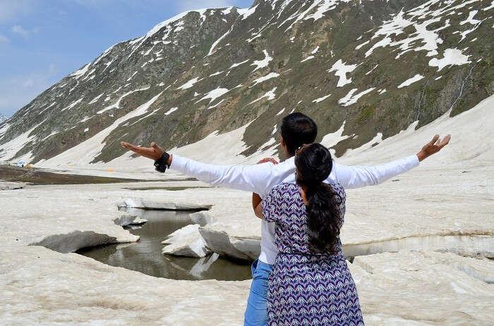 zonzula pass snow
