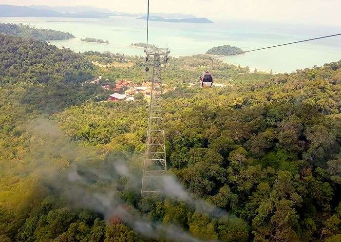 stunning view of penang