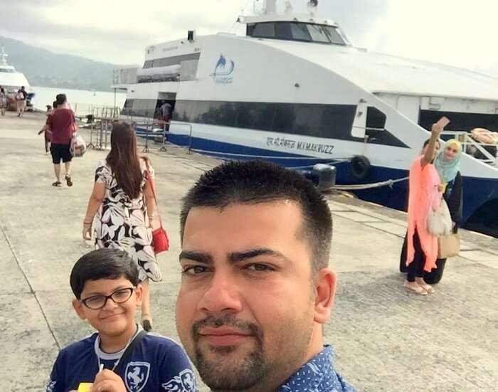 cruise in andaman