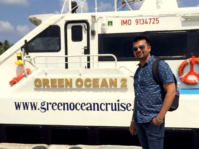 inter island ferry port blair
