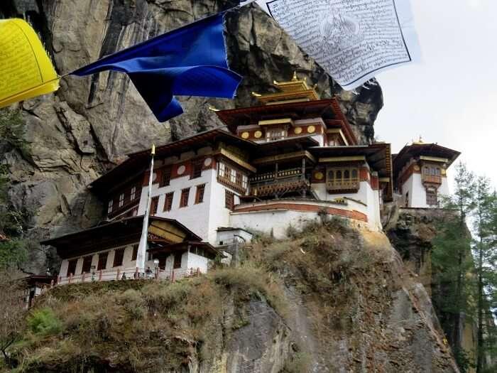 Taktsang monastery view